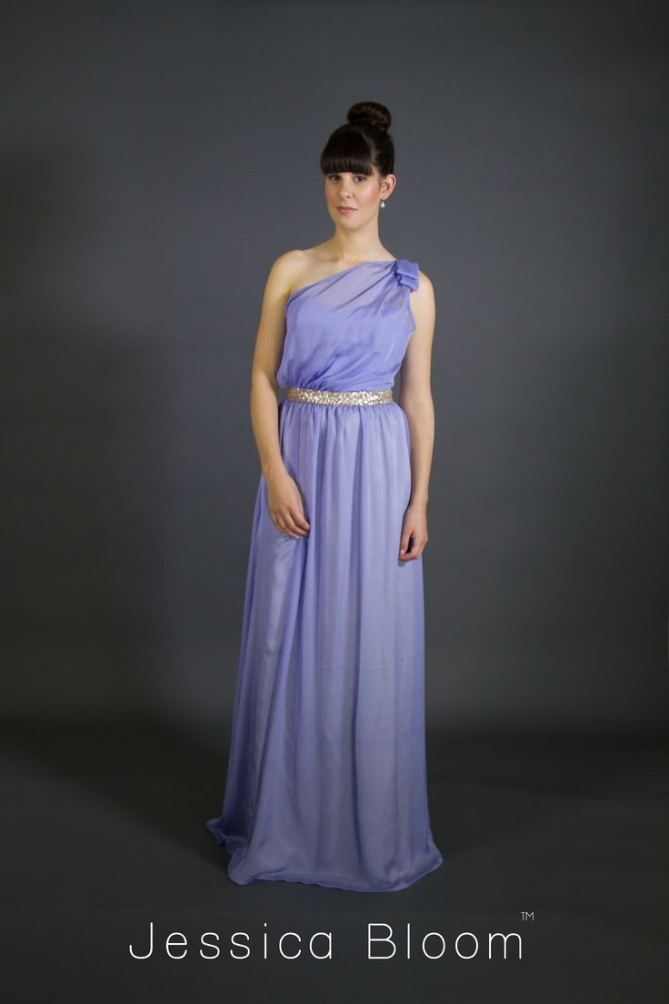 Jessica Bloom Charlotte Gown in Lavender
