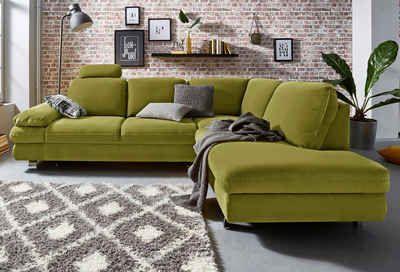Trendmanufaktur Polsterecke, wahlweise mit Bettfunktion und Bettkasten    #couch #sofa #ecksofa #polsterecke #wohnzimmer #inspo #interior #einrichtung #polstermöbel #möbel #schlafsofa