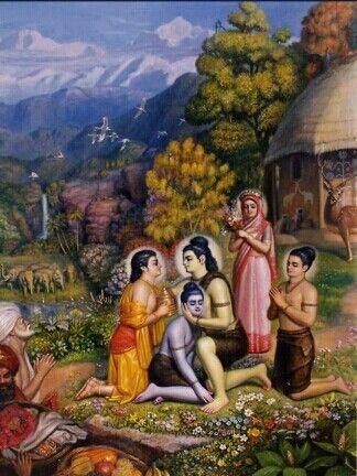 Sri Rama & his Brothers