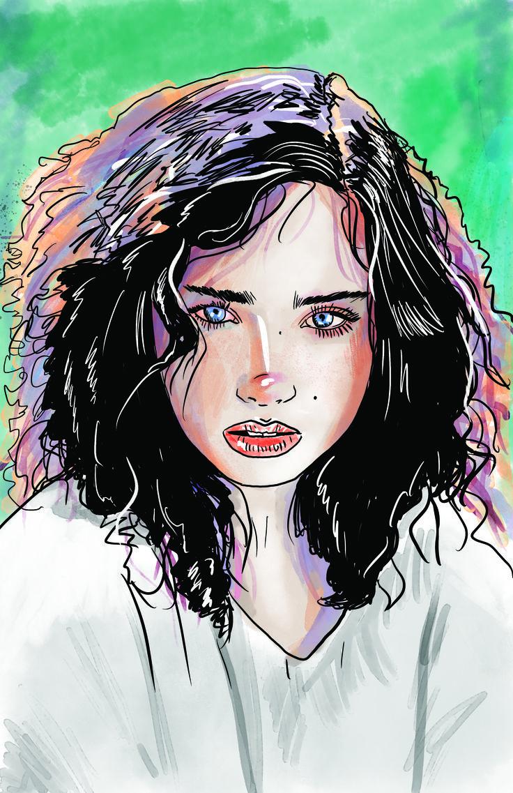 100 stylized portraits # 44