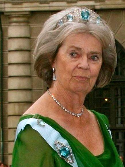 Princess Margaretha of Sweden sister of King Carl