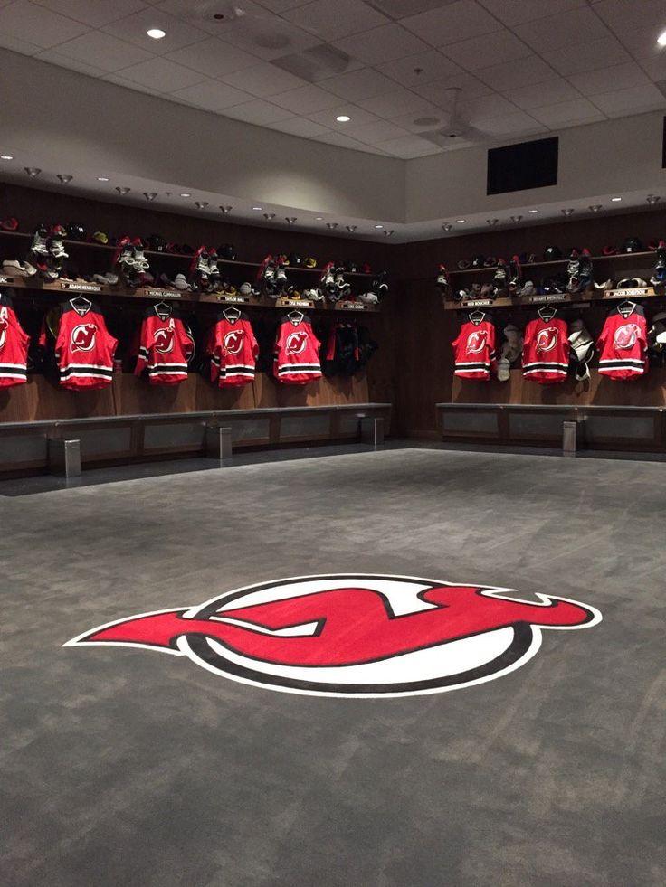 New Jersey Devils Locker Room