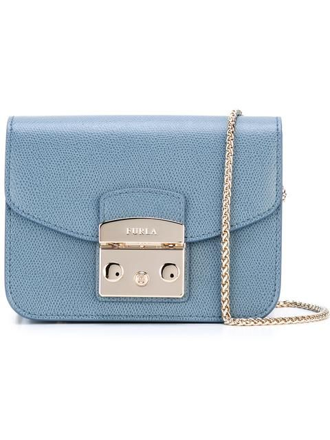 FURLA chain strap crossbody bag. #furla #bags #shoulder bags #leather #crossbody #