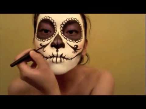 Día de los Muertos make-up tutorials - Skullspiration.com - skull designs, art, fashion and moreSkullspiration.com – skull designs, art, fashion and more