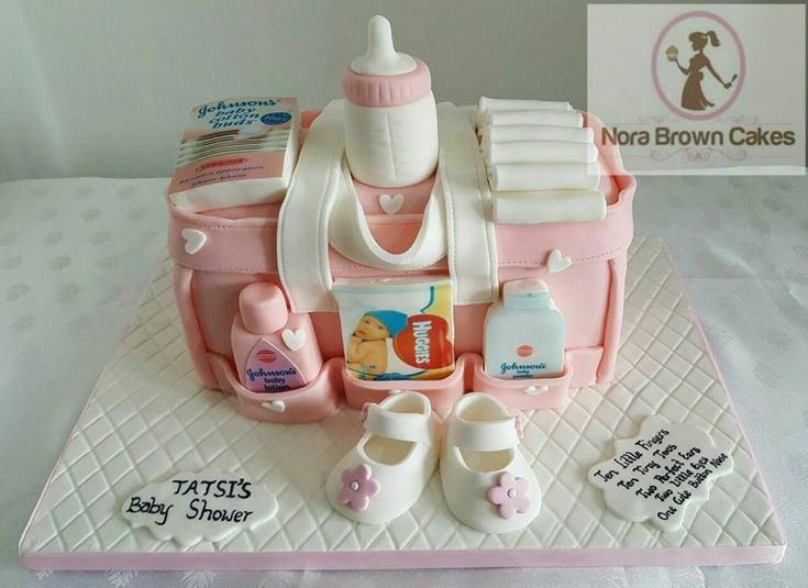 Diaper Bag Cake by Nora Brown