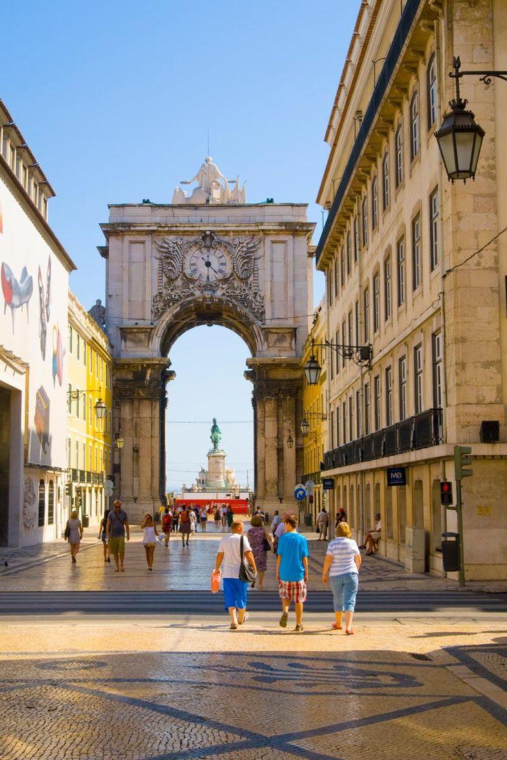 Rua Augusta (Lisboa). Portugal.