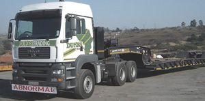 For abnormal loads http://www.dukestrading.co.za/