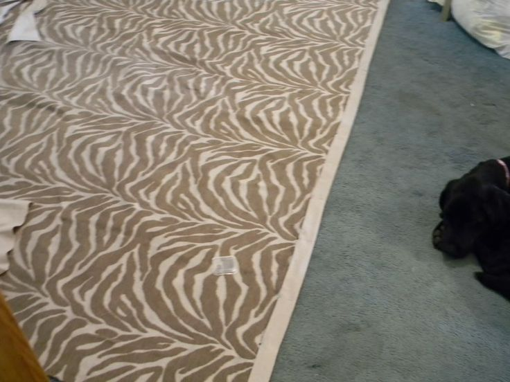 Fabric Rug: Tutorial