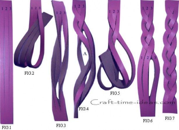Het geheim van vlechtjes in een leren armbandje