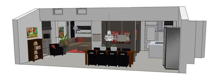 www.sketchupcursus.nl - SketchUp 3D, onderbouw je ontwerp met een goede 3D tekening!