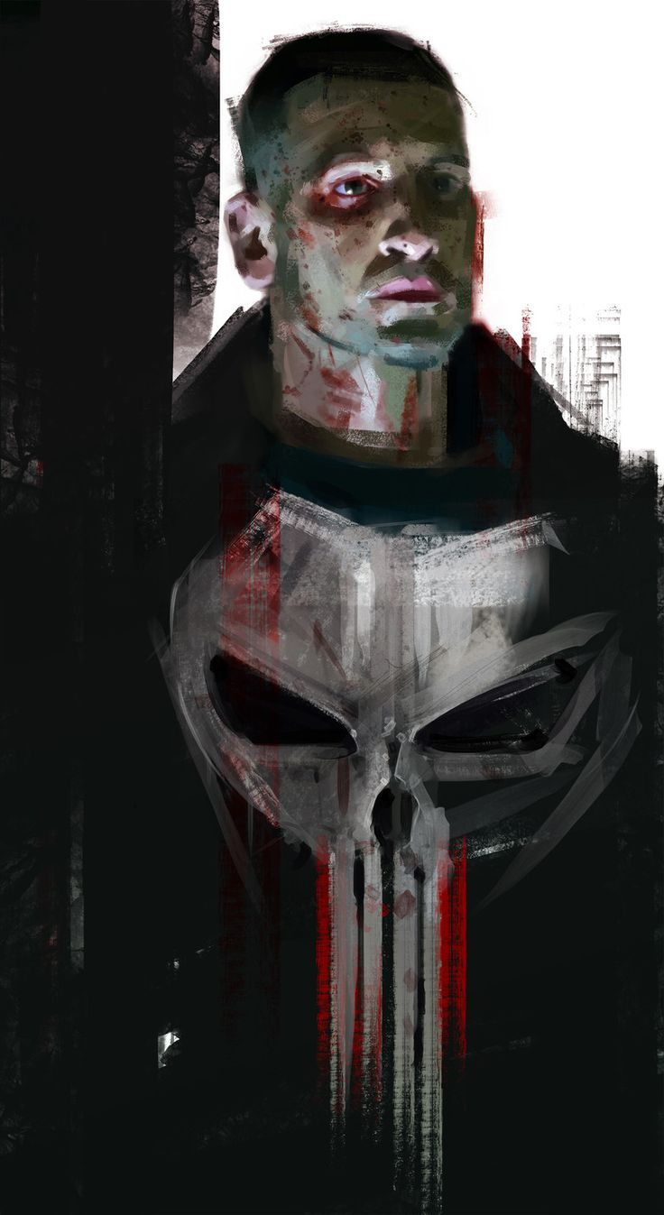 THE PUNISHER / Daredevil season 2, The Frisbeeman on ArtStation at https://www.artstation.com/artwork/3vBmE