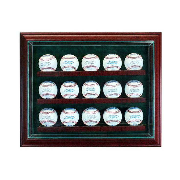 Unique Sports Memorabilia Display Cabinets