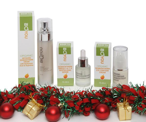Our best ever natural organic sea buckthorn Christmas gift packs