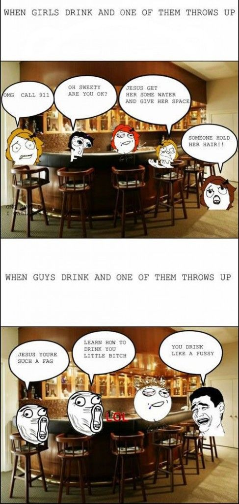 FUNNY pictures .. Check out the differences between men and women .. It's LAUGHING TIME!