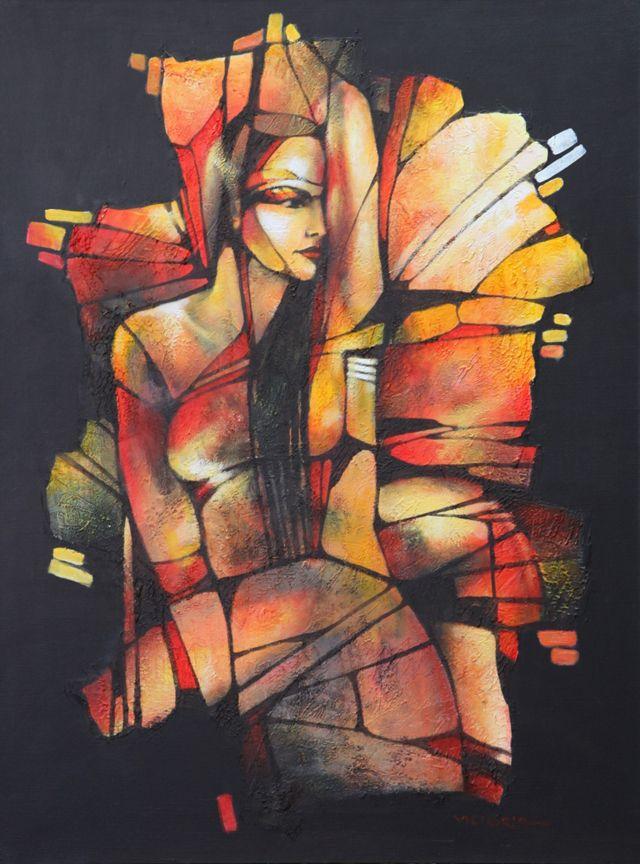 183.jpg (640×864) La pintora Victoria Stoyanova, de Bulgaria. Cada persona tiene su ideal sobre la belleza femenina.