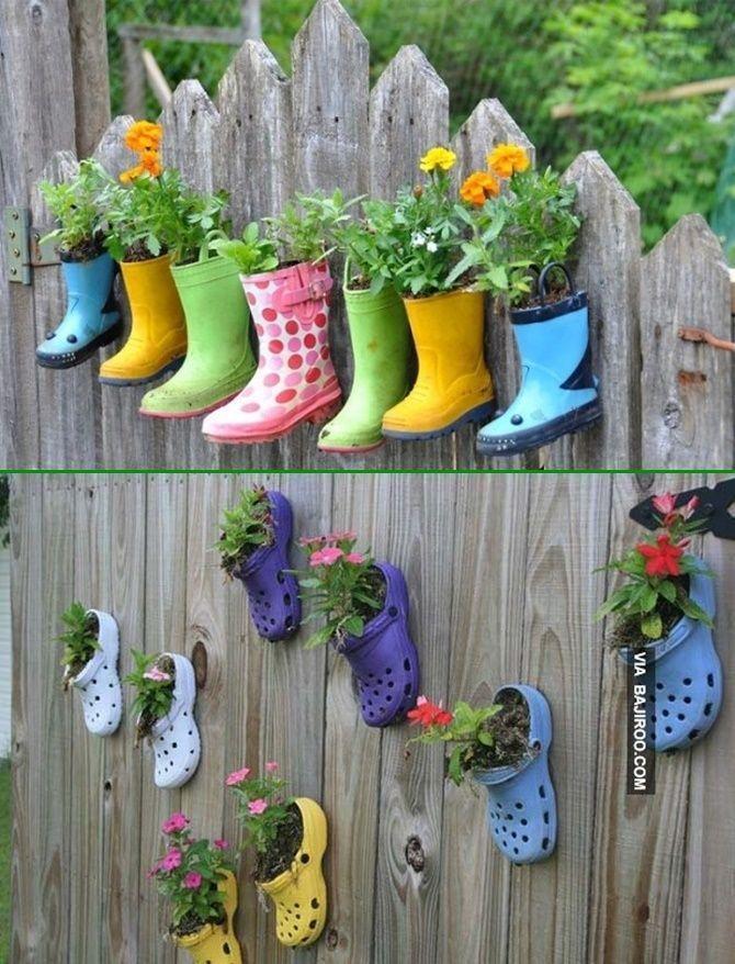 Idées de bricolage pour l. a. décoration de clôture de jardin de jardin superbe