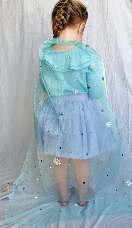 ¡No te pierdas este paso a paso y hazle a tu nena una hermosa capa de elsa de frozen! #Party