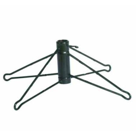 Green Metal Christmas Tree Stand for 12-ft Tall Artificial Tree, Black