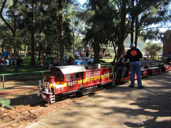 On the last Sunday of every month (except for December), the Lake Macquarie Live Steam Locomotive Society provides model train rides to the public. There's a variety of trains such as steam and diesel and different rail routes (both elevated and ground-level). So much fun for kids.