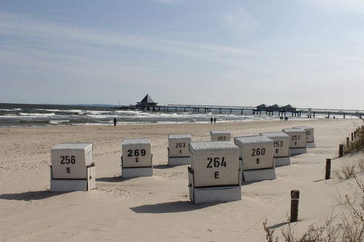 #Strand vor dem #Strandhotel #Ostseeblick mit tollen #Strandkörben / #Wellness-Hotels & Resorts