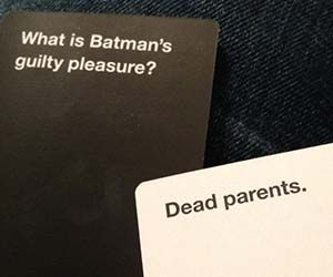 I have this game and all the expansion packs. Possibly the most amusing game to play with your friends if you don't mind dirty jokes. Cards Against Humanity.