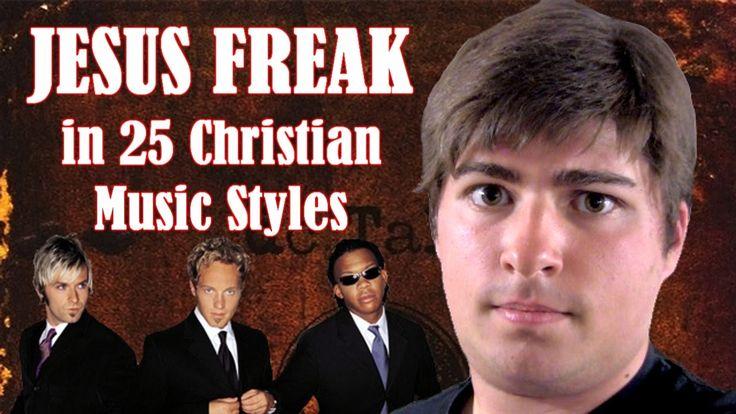 """""""Jesus Freak"""" by DC Talk in 25 Christian Music Styles"""