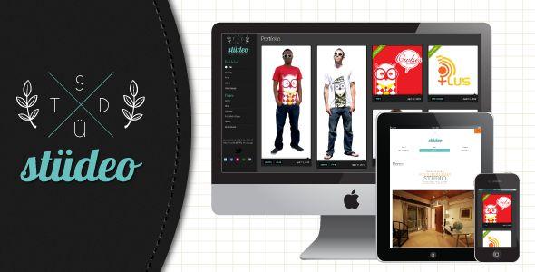 studeo - Ajax-driven creative portfolio