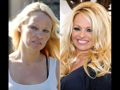 Знаменитости без макияжа Натуральная красота известных женщин.