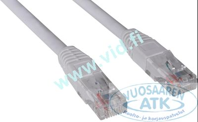 RJ45 UTP patch network cable.The CAT6 standard is an improved version of CAT5e, specially designed to support gigabit Ethernet with an optimal transfer rate and minimal data packet loss