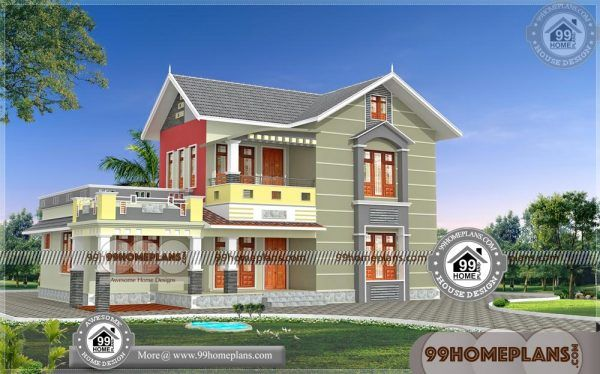 Low Cost House Plans Estimate 90 Small Two Storey Homes Designs Low Cost House Plans House Plans One Story House Plans
