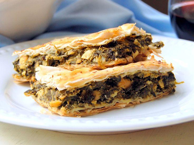 Vegan Spanakopita – Greek Spinach Pie