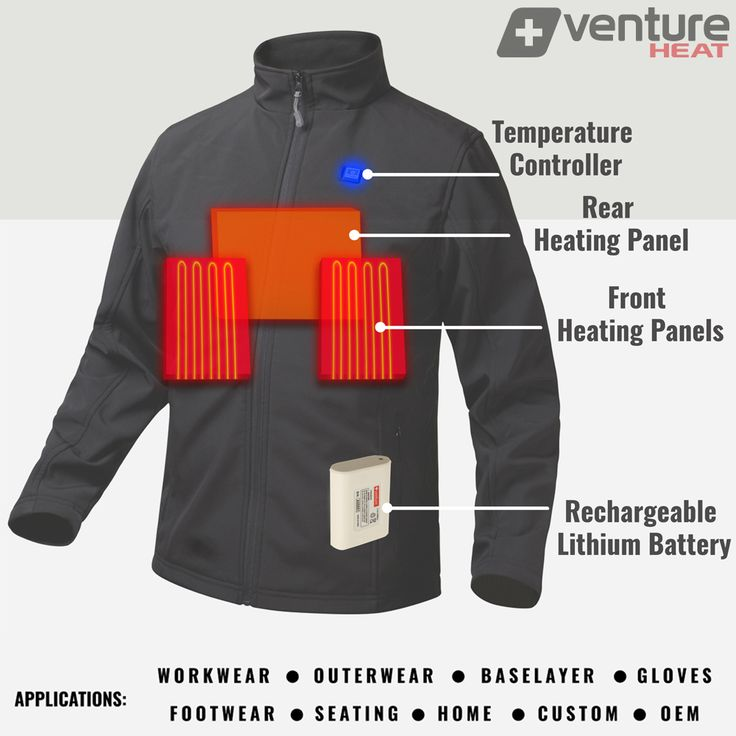 Venture Heat® Winter Heated Jackets consistently beat the competition when compared together.  #heatedjackets #heatedgear #heatedhoodie #heatedapparel #heatedvests #heatedgloves