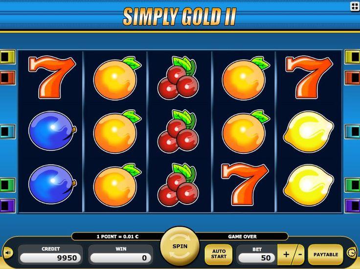 Neu kostenlos Spielautomaten Spiel Simply Gold II - http://freeslots77.com/de/kostenloser-online-spielautomat-simply-gold-ii/