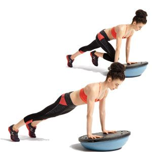 Try the 'Mountain Climber' on the 'BOSU (Balance Trainer)' to increase the intensity of the exercise.  I lost 130lbs and became a Personal Trainer! Share My Free Tips  My Motivational Fitness DVDs are on SALE for 60% off for a limited time at www.Shop.THayesFitness.com.