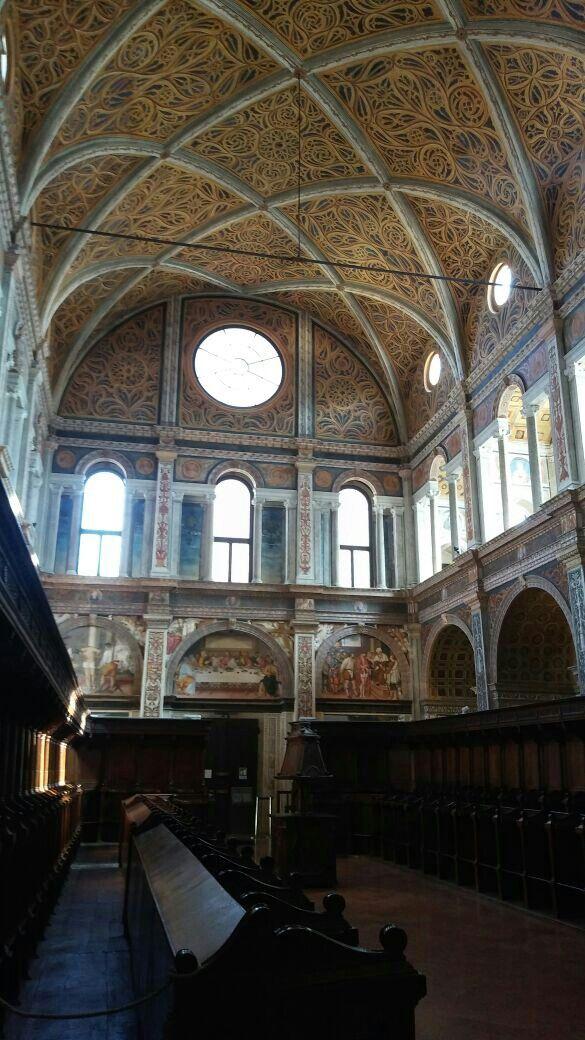 Sala del coro Chiesa S.Maurizio al Monastero Maggiore