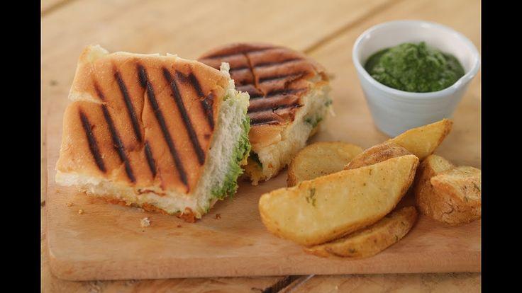 Chutney Cheese Sandwich | Sanjeev Kapoor Khazana