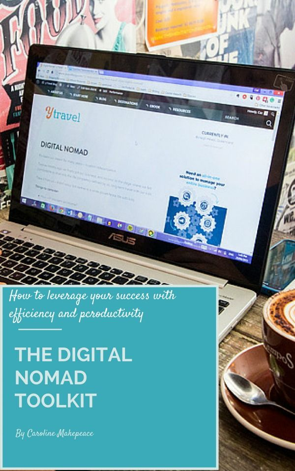 Use My Digital Nomad Toolkit to Leverage Your Success with Productivity