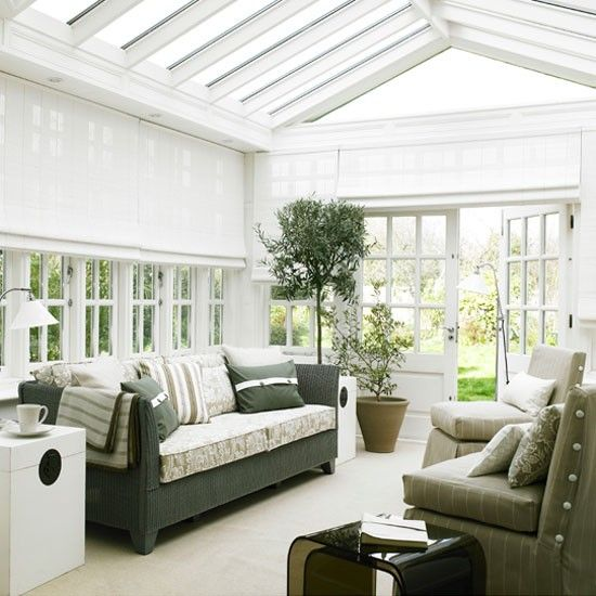 living room glass roof   living room painted white with potted plants and glass roof ...