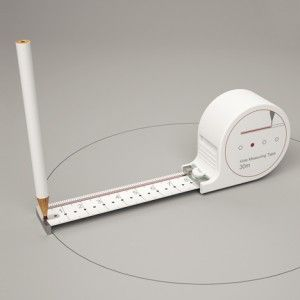 Any Kinda Tape measure  by Sunghoon Jung (Tape Measure + Compass + Ruler)