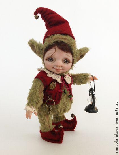 Коллекционные куклы ручной работы: Эльф Альдар (тедди-долл). Handmade.