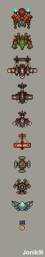 Design vaisseaux - Idées