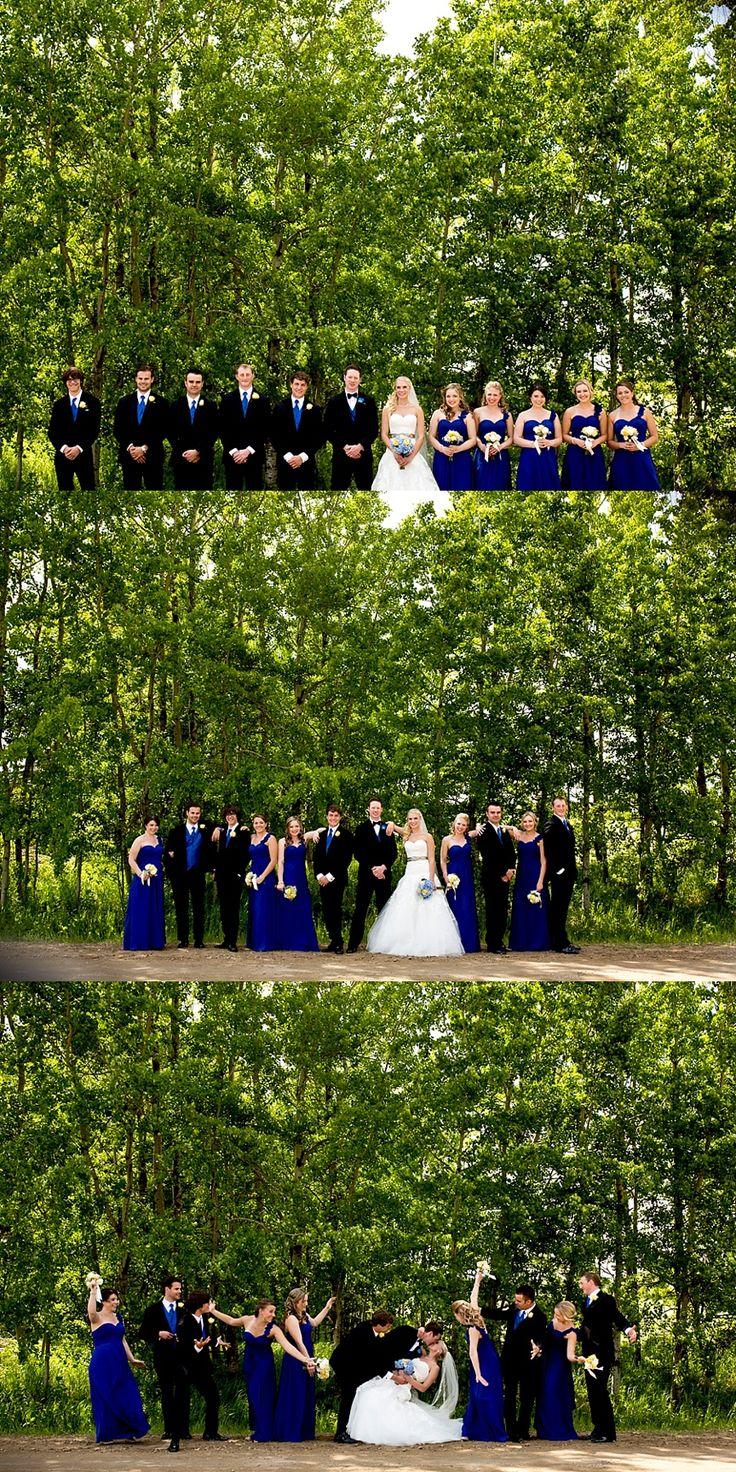 calgary wedding photographer, wedding party posing, wedding photography, sylvan lake wedding