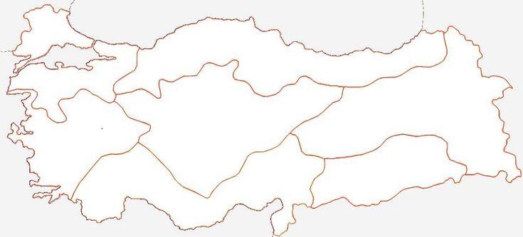 Best Türkiye Bölgeler Haritası Boyama Oyunu Image Collection