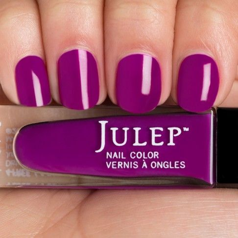electric purple nail polish - photo #24
