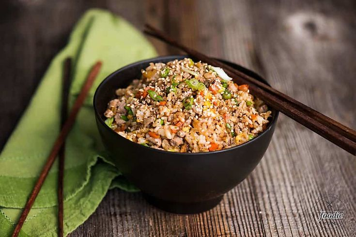 Pork Fried Rice, made with tender pork tenderloin, is a delicious and complete meal your family will love. See how easy it is to make pork fried rice just like a Chinese restaurant in your own kitchen!