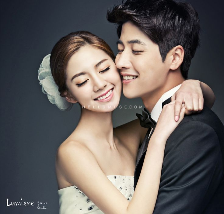 Korea pre wedding photo style