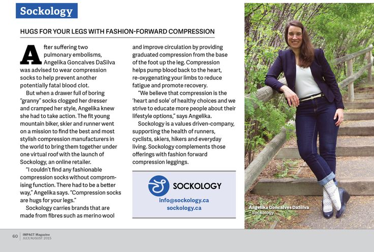 Impact Magazine - 2015 Annual Business Profiles – Sockology Inc.