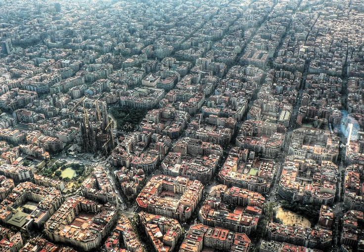 Great city planning for Barcelona Spain.