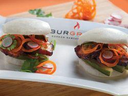 Gordon Ramsay Burger (sorry no recipe ~ just a photo of his dish in Las Vegas)