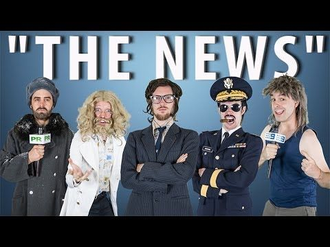 """In which Robert Foster investigates the memetics of The News. """"THE NEWS"""" - feat Sage Francis [RAP NEWS 21]"""